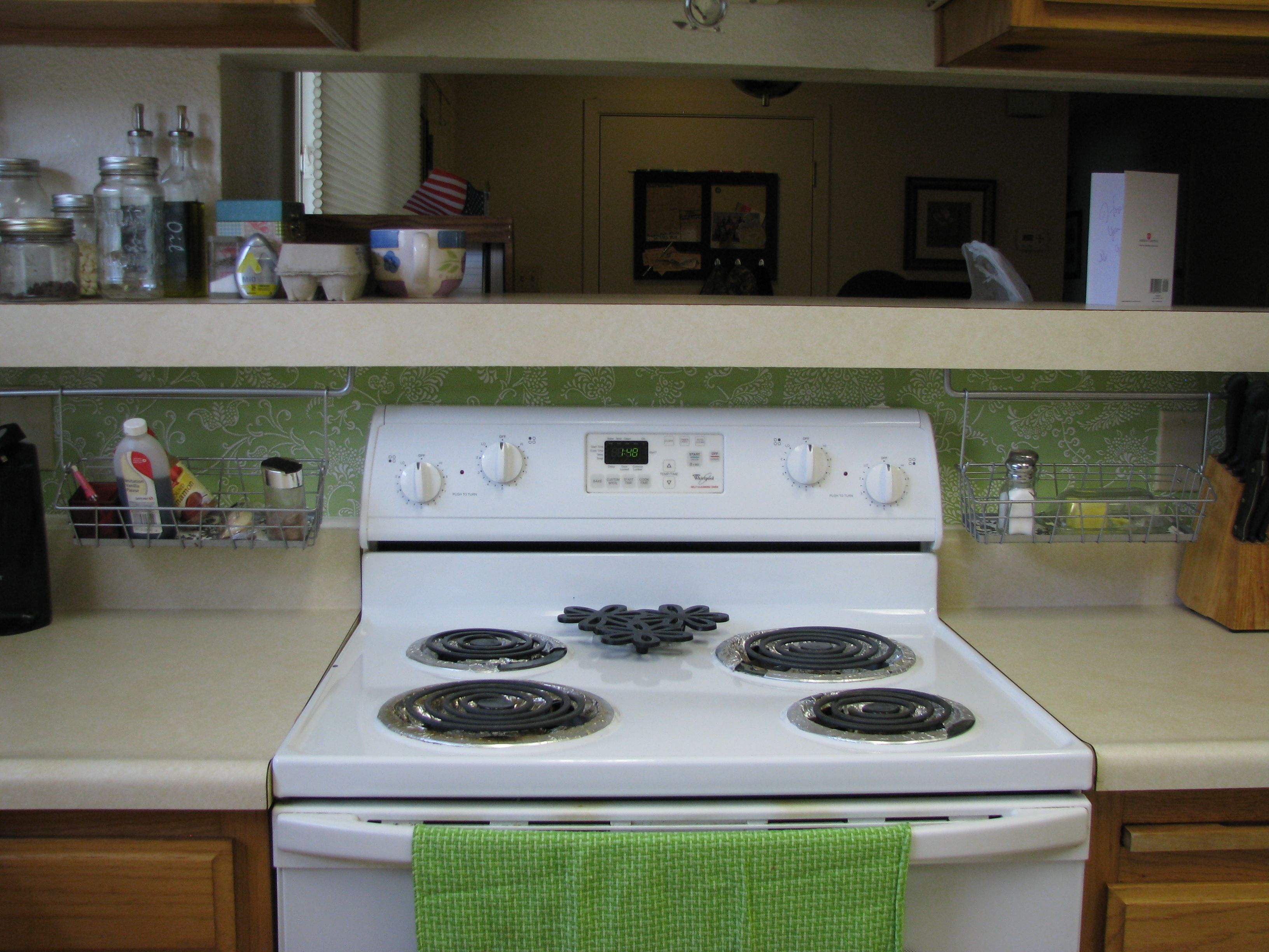 use contact paper as backsplash my crafts diy projects pinterest