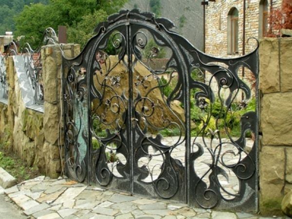 How To Build A Wooden Gate Professionally Wrought Iron Wall