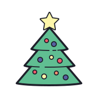 Christmas Tree Icon Free Download Png And Vector In 2020 Christmas Tree Tree Icon Christmas