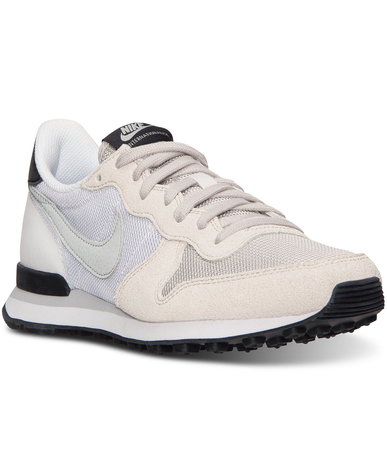 buy online b416e f7736 Nike Women s Internationalist Casual Sneakers from Finish Line - Finish  Line Athletic Shoes - Shoes - Macy s