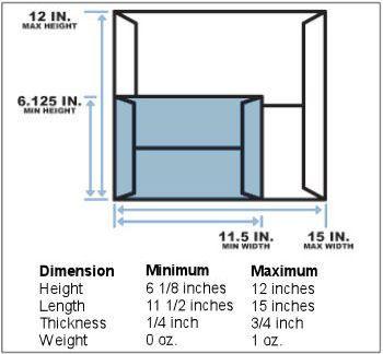 usps envelope size cost - Siteze