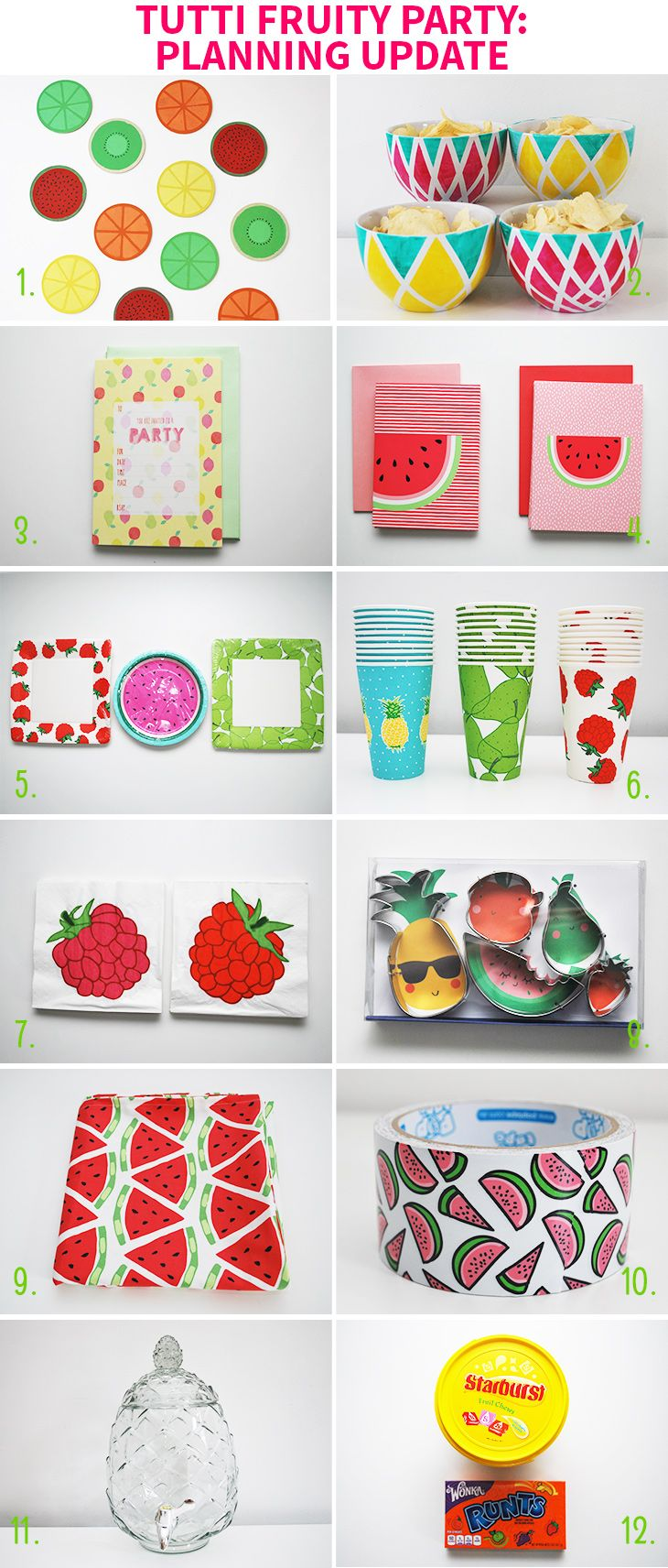 Tutti Fruity Party: Planning Update on Style for a Happy Home ...