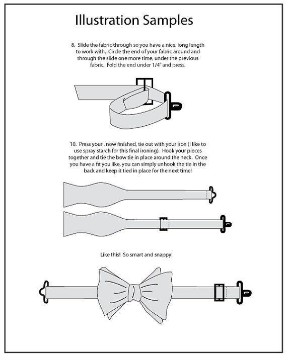 Mr. Hipster Bow Tie Pattern eBook pdf Men by HipsterHaberdasher ...