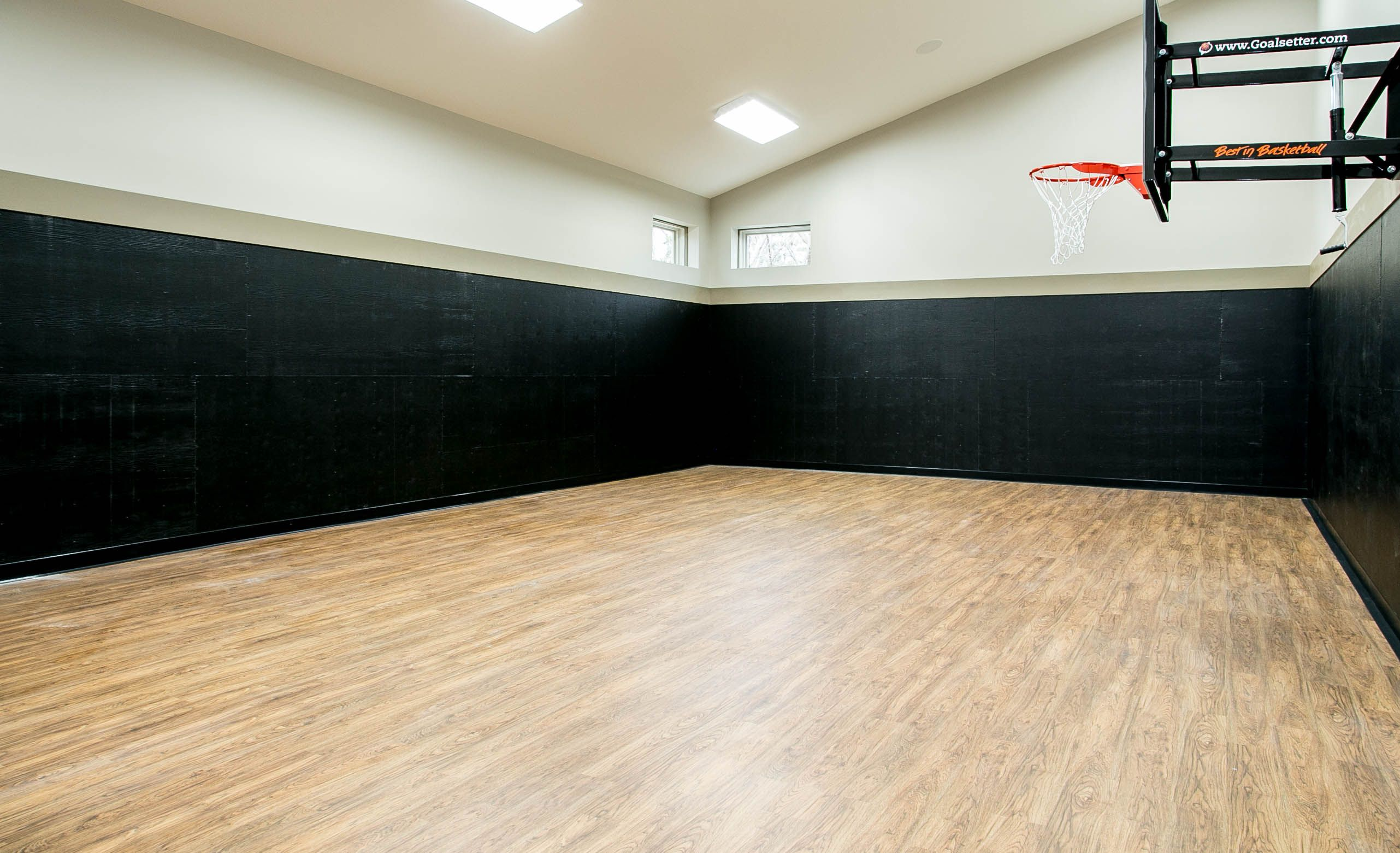 Check Out This Great Space You Can Play Basketball Hockey Volleyball You Name It It Is Open And Spacious Enough For Jus Dance Rooms Games To Play Spacious