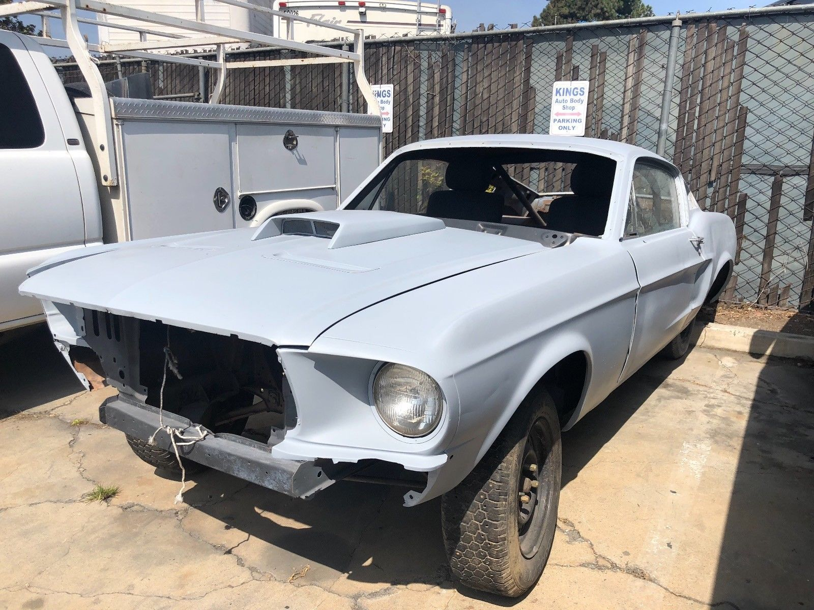 Solid 1968 Ford Mustang Gt Project Ford Mustang Gt Mustang Gt