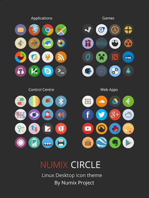How to install Numix-Circle Icon Theme on Ubuntu 16 04