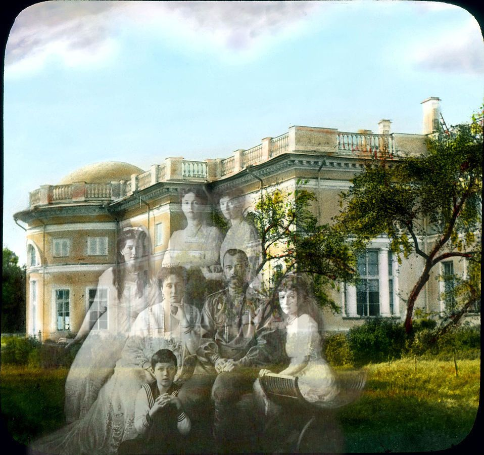 The ghosts of the Romanovs in the grounds of Alexander Palace.