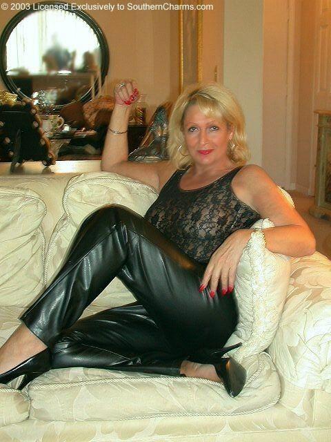 Mature woman dominates oung