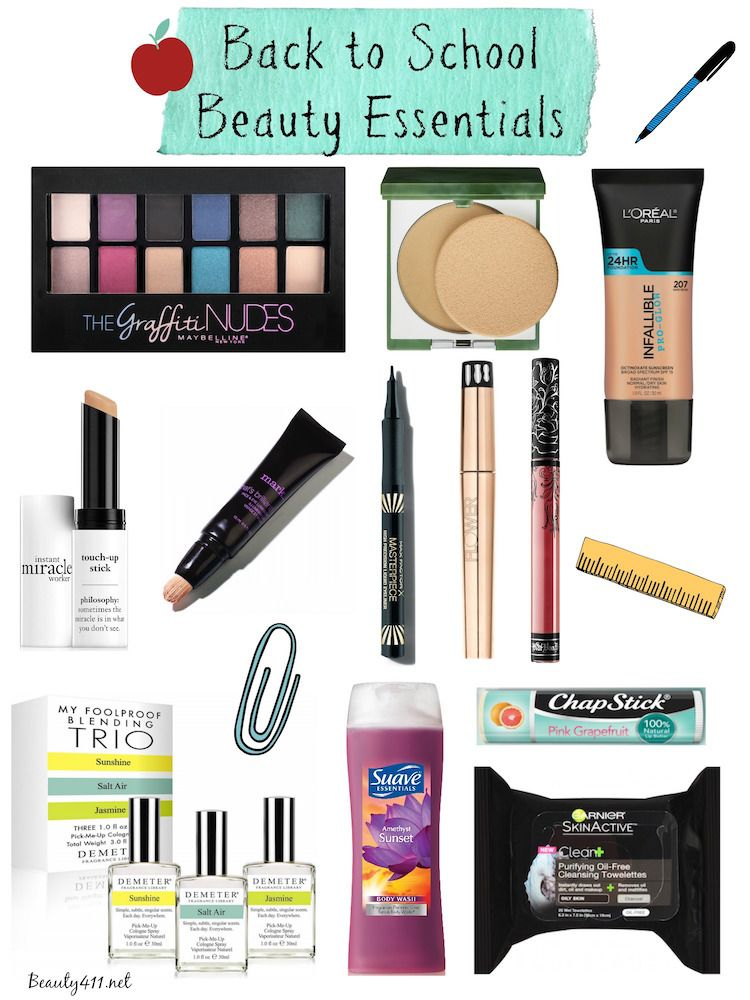 Back to School Beauty Guide! #beautyessentials