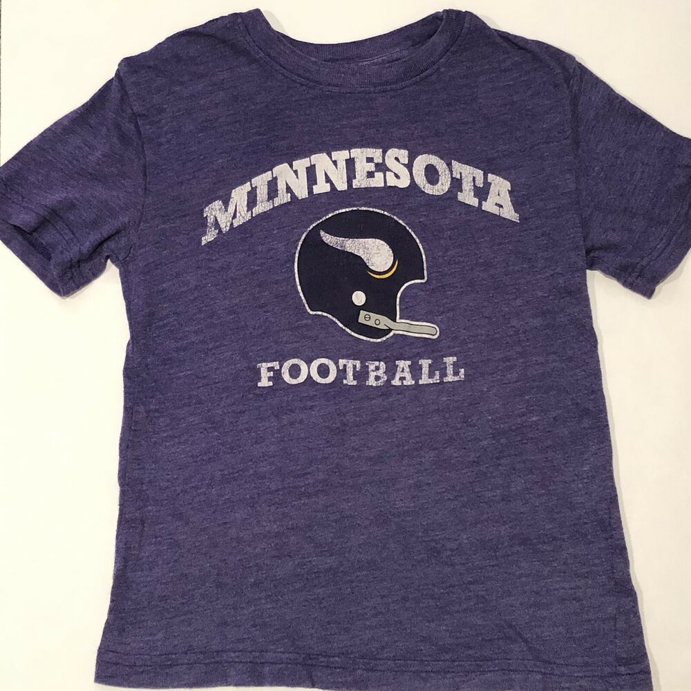 Details about Minnesota Vikings Youth Small T Shirt NFL Football