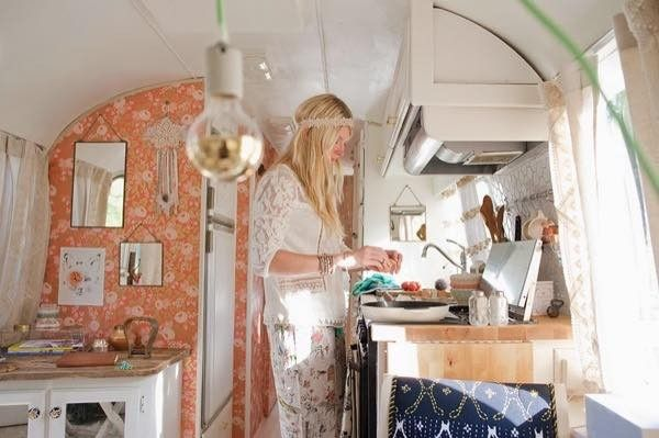 I want to be her right now. renovated-airstream-with-anthropologie-and-sarah-schneider-007