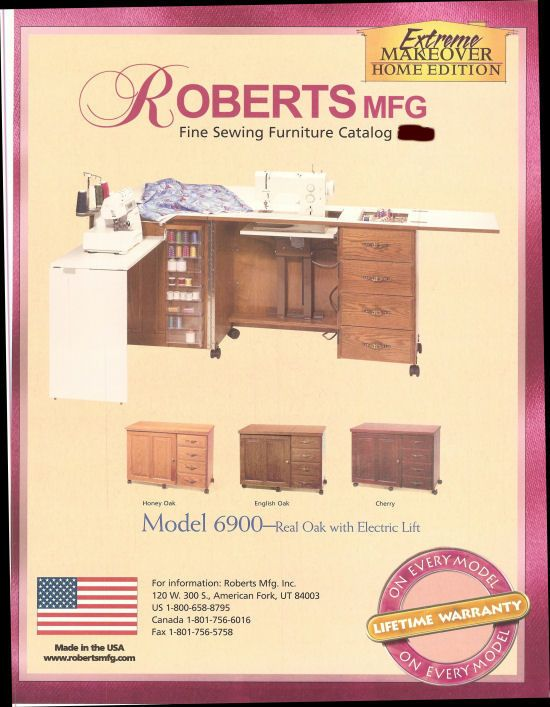 Roberts Sewing Machine Cabinets And Sewing Furniture Sewing