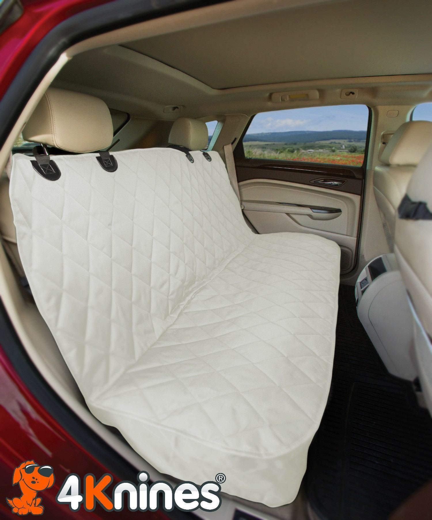 Fitted Rear Bench Dog Seat Cover For Cars