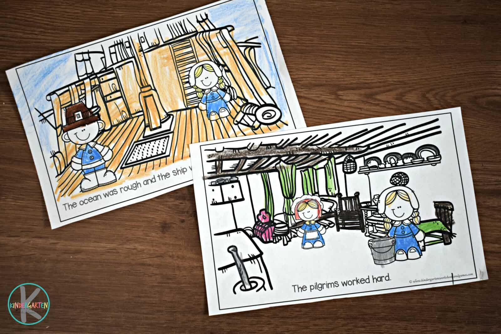 Kindergarten First Grade Thanksgiving Story For Kids