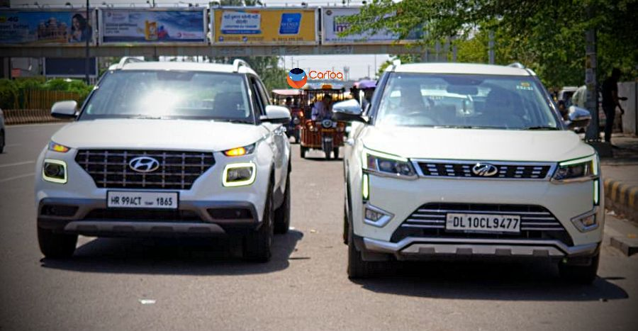 Privileged Hyundai Place Next To A Mahindra Xuv300 Tata Nexon For The First Time Best Luxury Sports Car