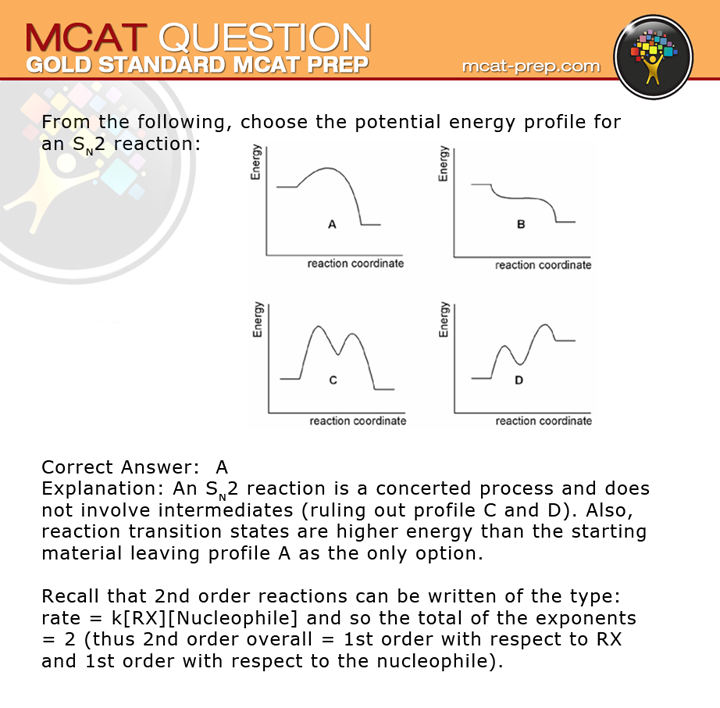 MCAT question with solution. Test-drive our free MCAT practice test ...