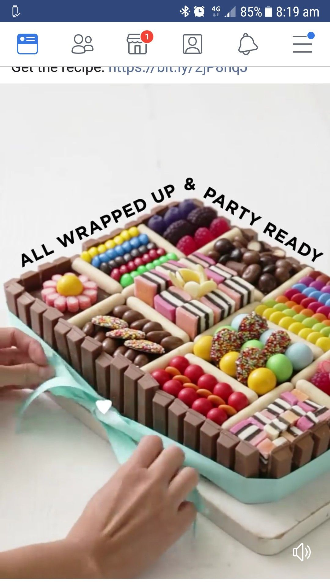 Lolly box cake   Twin birthday cakes, Creative birthday ...