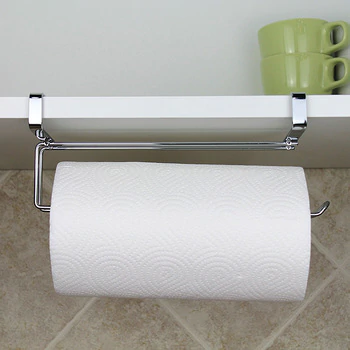 Quickdone Stainless Steel Kitchen Bathroom Toilet Paper Holder Hanger Tissue Roll Towel Rack Kitchen Cabinet Door Hook Kc1634 In 2020 Paper Towel Storage Towel Storage Bathroom Toilet Paper Holders