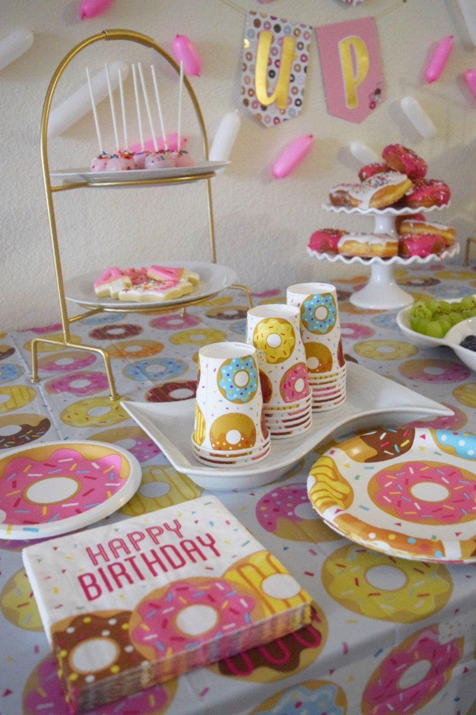 Girl 4th Birthday Party