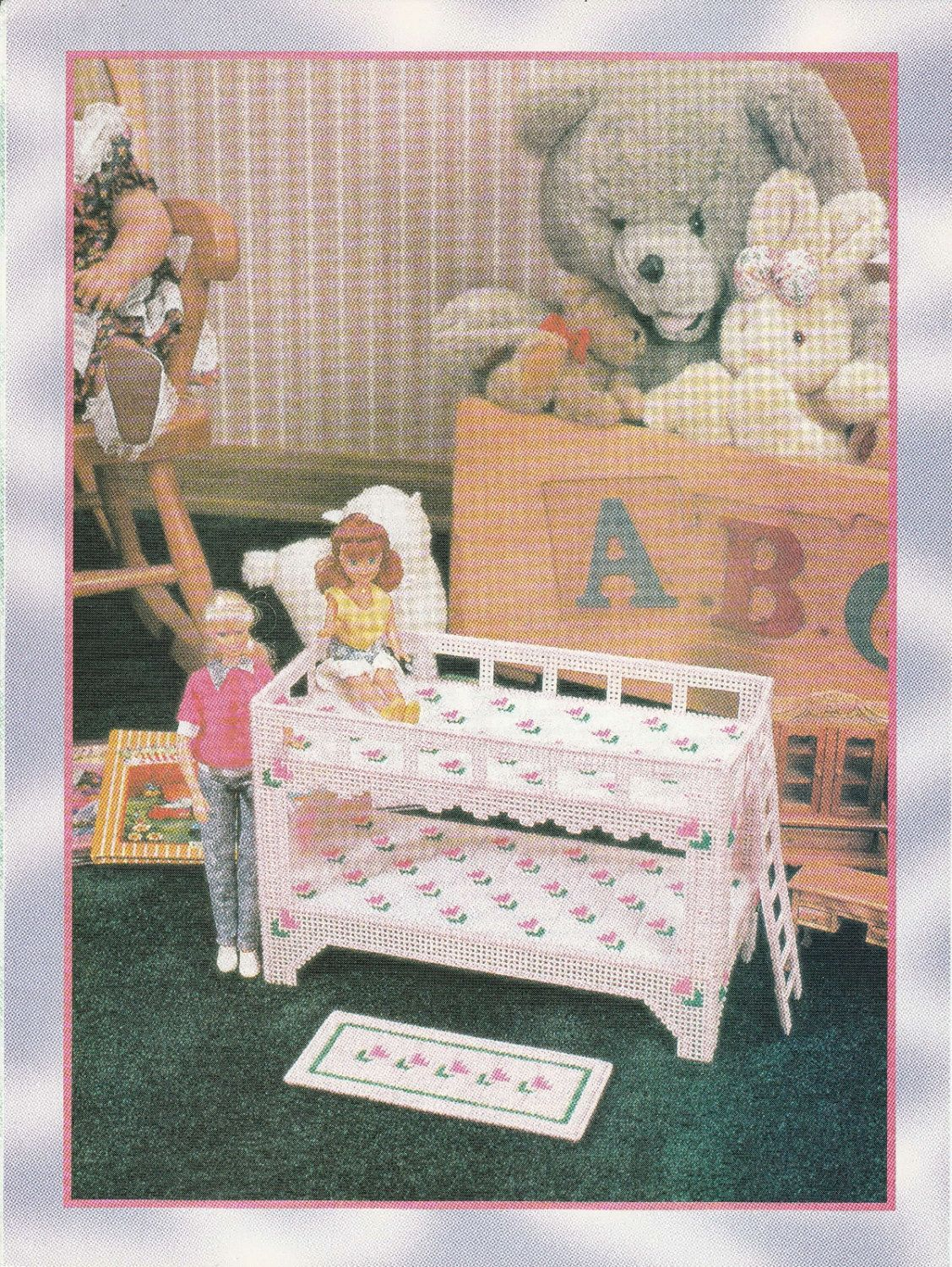 Plastic Canvas Dollhouse Bunk Beds Www Tollebild Com