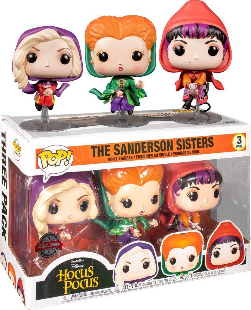 Hocus Pocus Sanderson Sisters Flying POP! VINYL 3 Pack