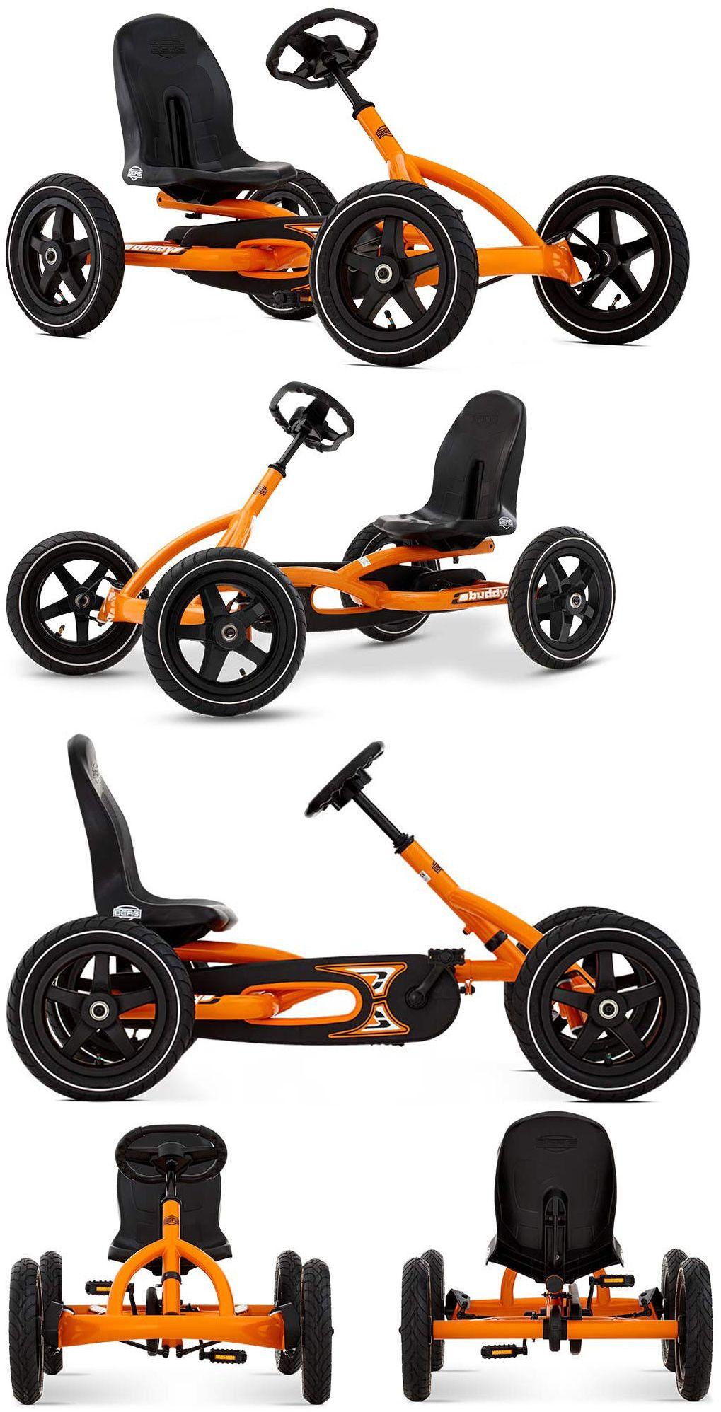 1970Now 19022 Berg Buddy Orange Kids Pedal Car Go Kart 3