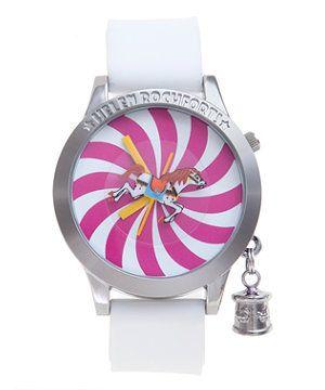 White (White) Helen Rochfort Horse Carousel Watch   265087110   New Look