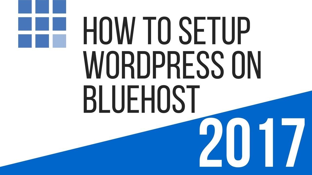 Video tutorial on how to setup wordpress on bluehost wordpress video tutorial on how to setup wordpress on bluehost baditri Images