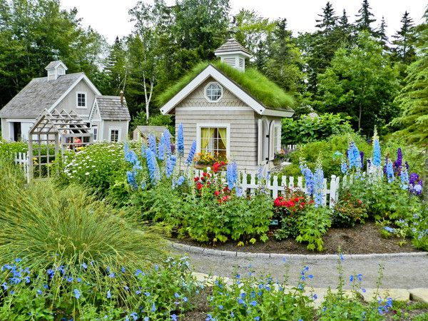 Coastal Garden Landscape | ... The Coastal Maine Botanical Gardens | Point  And Shoot