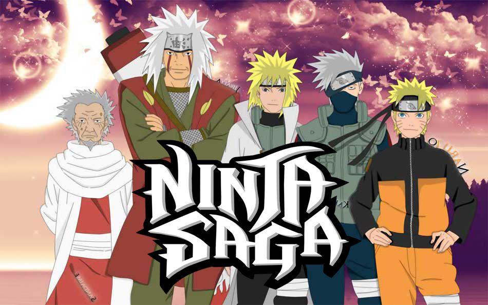 Ниндзя Сага — окунитесь в мир шиноби вместе с Наруто!