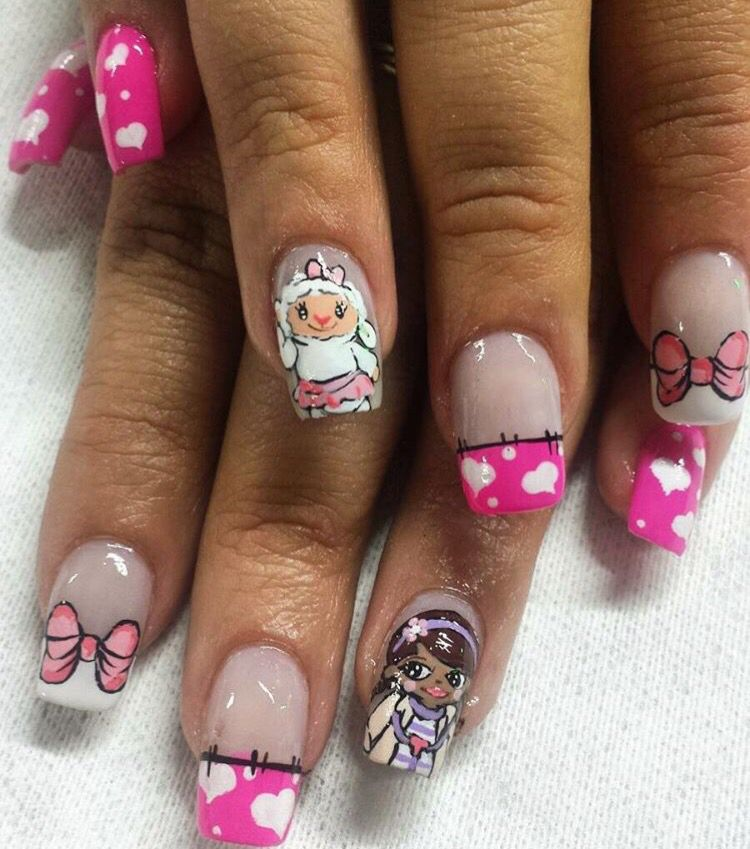 Diy Nail Ideas Doc Martens Nail Art And More Of Our: Pin By Elaine Haub On Fingernails Disney