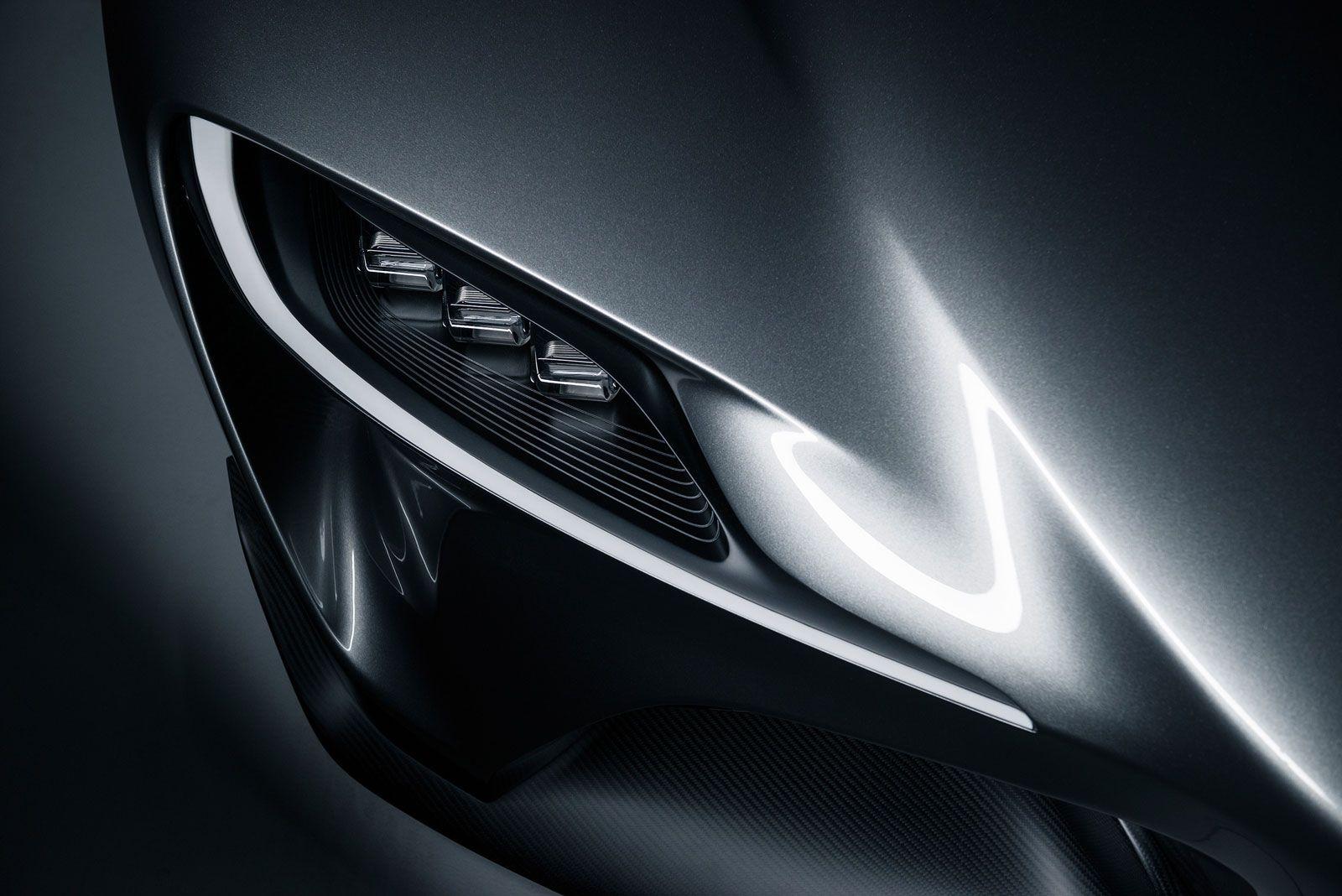 Toyota FT1 Graphite Concept Headlight コンセプトカー, カーデザイン