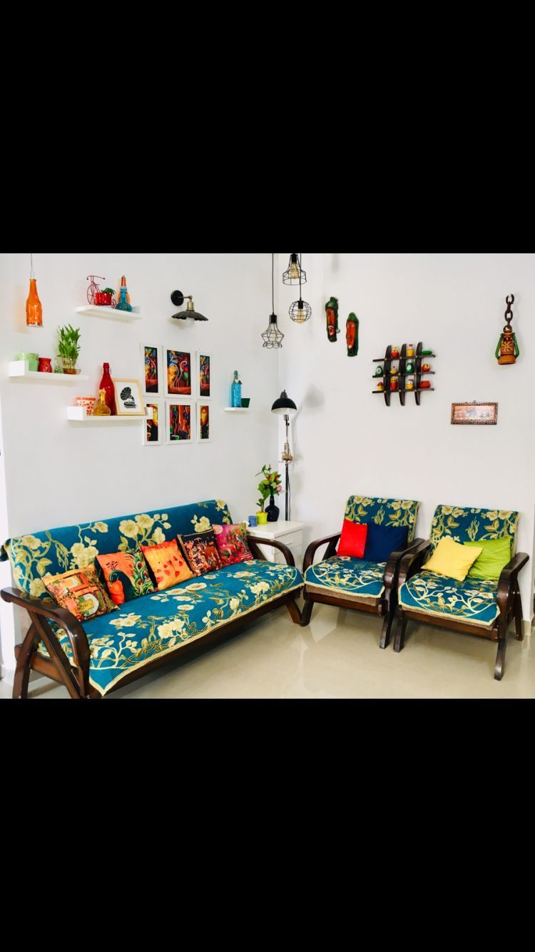 Indian Style Drawing Room Living Room Budgetdiyhomedecor Indian Home Decor Indian Living Room Design Sofa Makeover #wall #decor #for #living #room #india