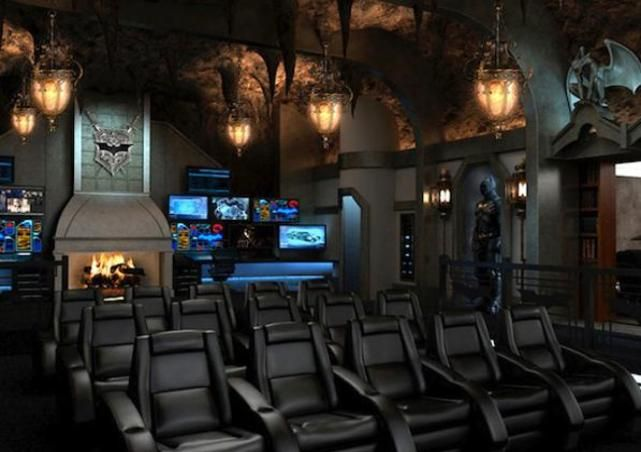 Bat Cave Theater Room | Man Caves - Theater Rooms | Home ... Bat Home Theater Design on home system design, home entertainment, kitchen design, home furniture, interior design, home cafe design, home theatre room, home theaters mansions, speakers design, home theatre interiors, movies design, bedroom design, home cinema design, theatre floor plan design, wine cellar design, bar design, home bowling design, swimming pool design, theatre classroom design, decks design,