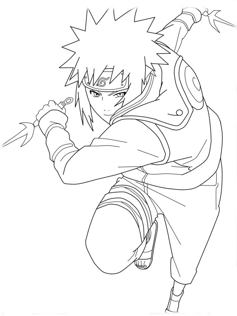 free printable naruto coloring pages for kids coloring pages