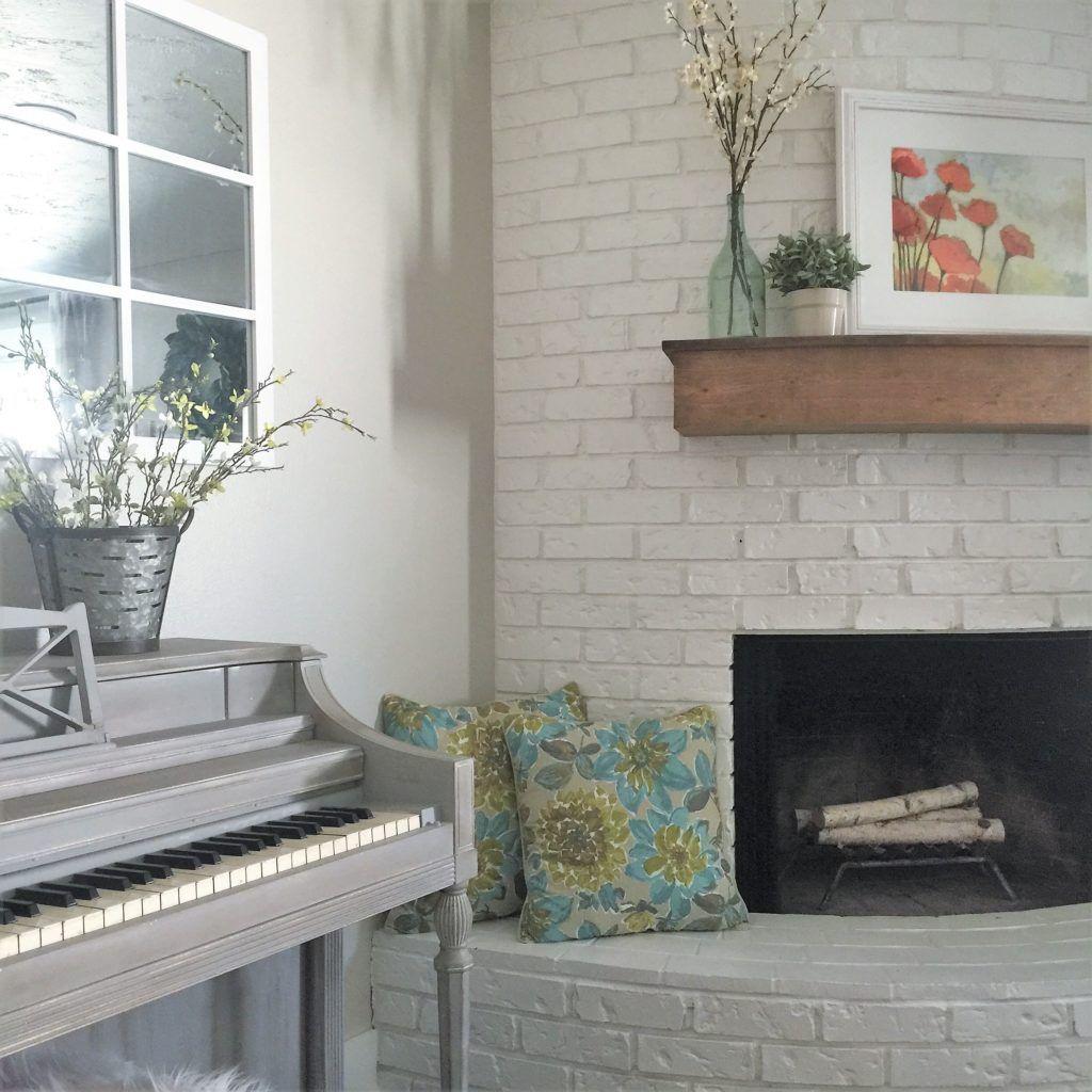 88 Modern Farmhouse Corner Fireplace
