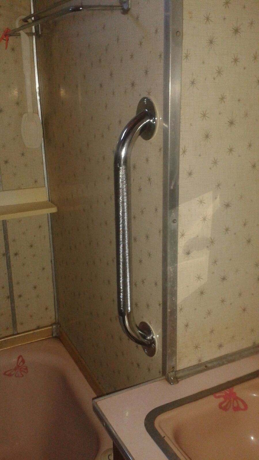 AFTER - Grab bar installed leading into the shower. Also great next ...