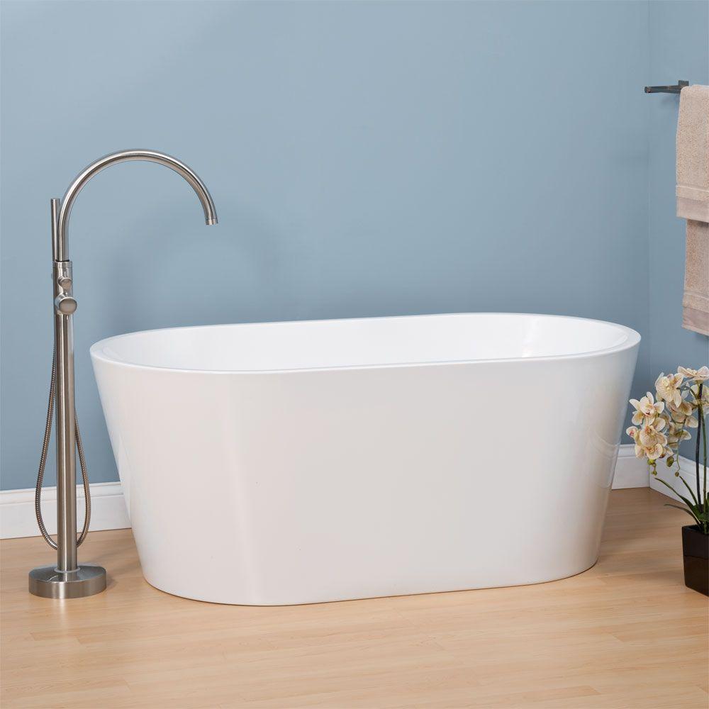 Eden Acrylic Freestanding Tub | Pinterest | Freestanding tub, Tubs ...