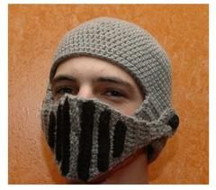 Look awesome this winter wearing this one of a kind unique Roman knight ski  crochet hat and stand out from the rest! Features  - Soft acrylic yarn  Stretchy ... ef695d19031