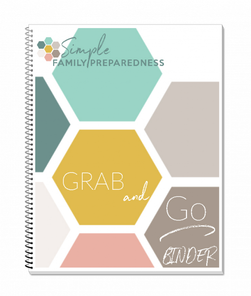 Fill-able Grab And Go Binder Pages