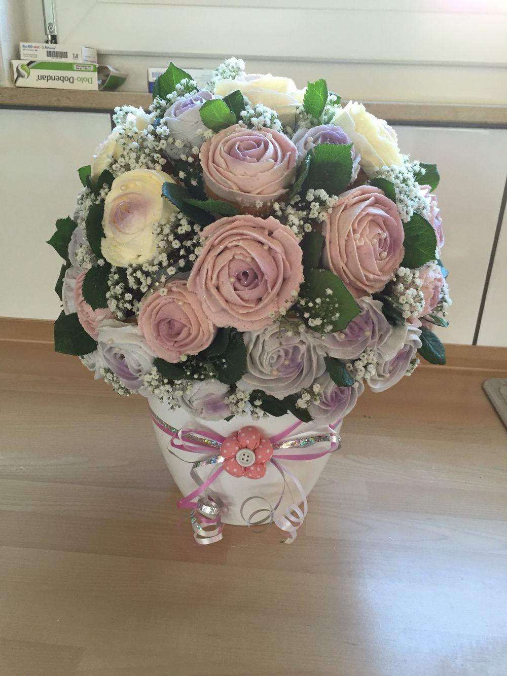 Cupcake bouquet arts crafts pinterest cupcake flower bouquets cupcake bouquet izmirmasajfo