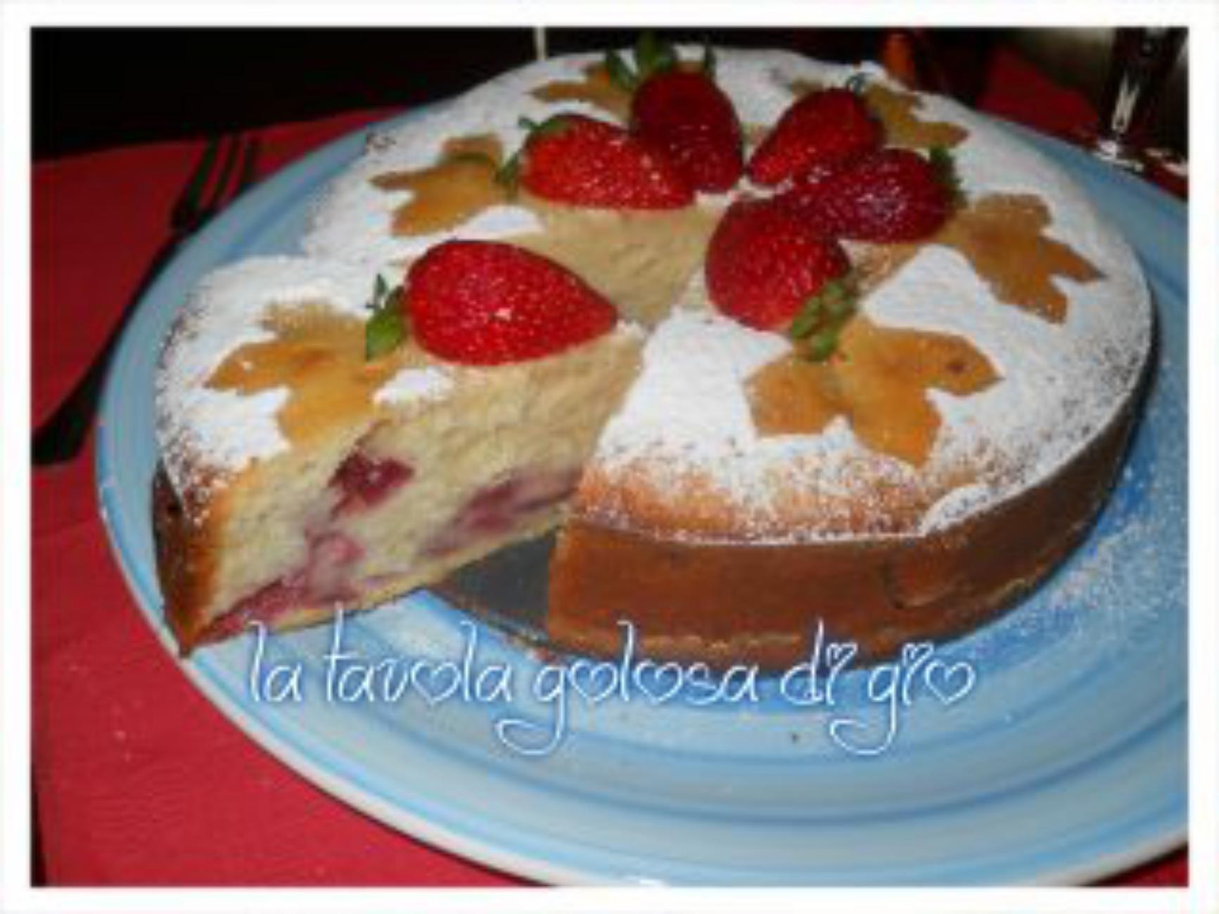 Pranzo Yogurt Magro : Torta di fragole con yogurt magro dolci pinterest