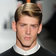 dark golden blonde with images  classic mens haircut