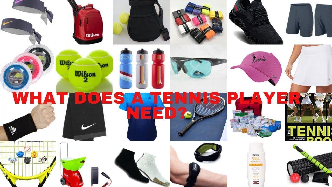 Best Tennis Equipment For Tennis Players A Must Have List Tennis Players Tennis Clothes Tennis Gear