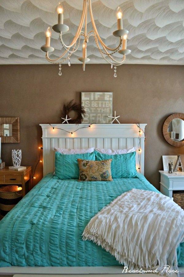 Sally Lee by the Sea Beachy Bedroom Decor!