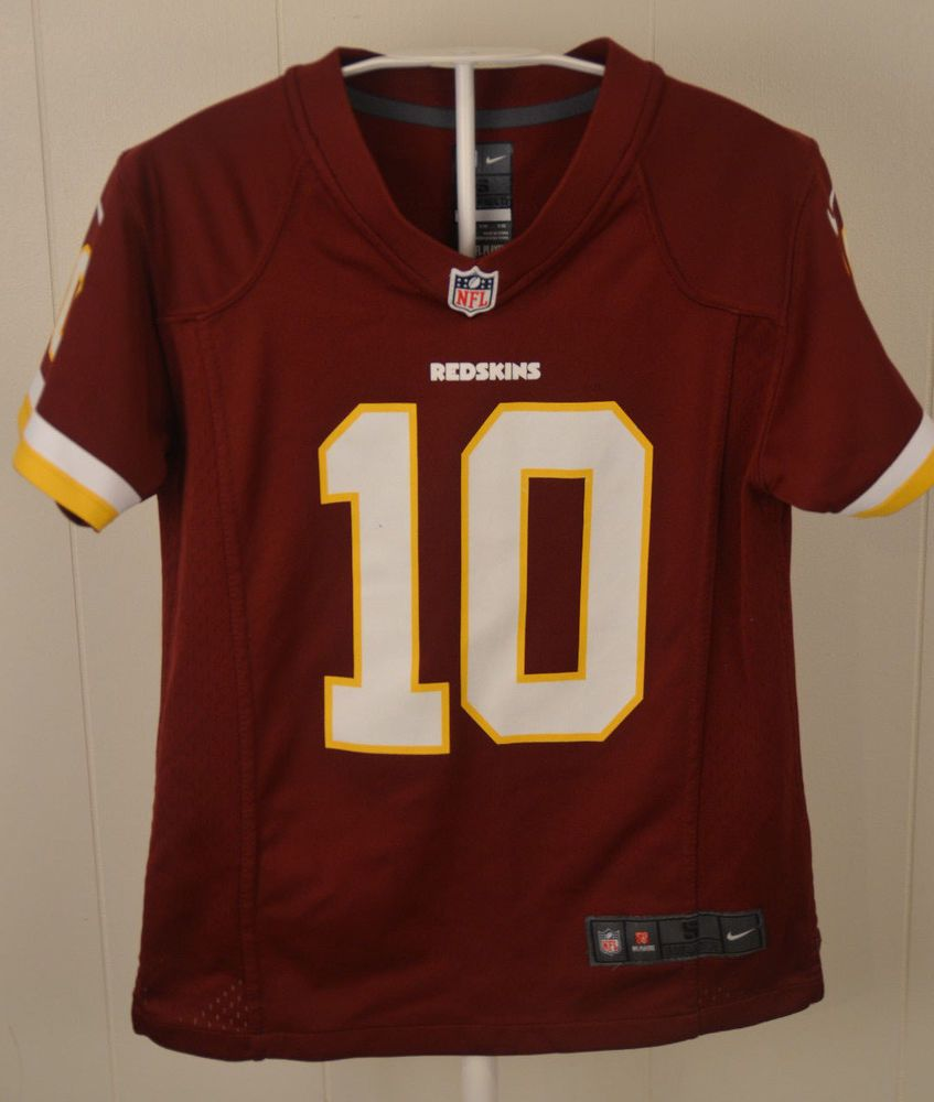 0b4183a1 Nike Washington Redskins Jersey #10 Robert Griffin III NFL Youth ...