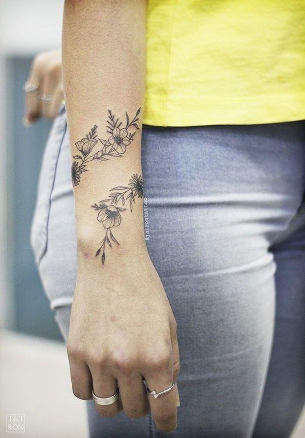 40 Delicate Wrist Tattoo Ideas For Sensitive Folks Meaningful Wrist Tattoos Simple Wrist Tattoos Tattoos