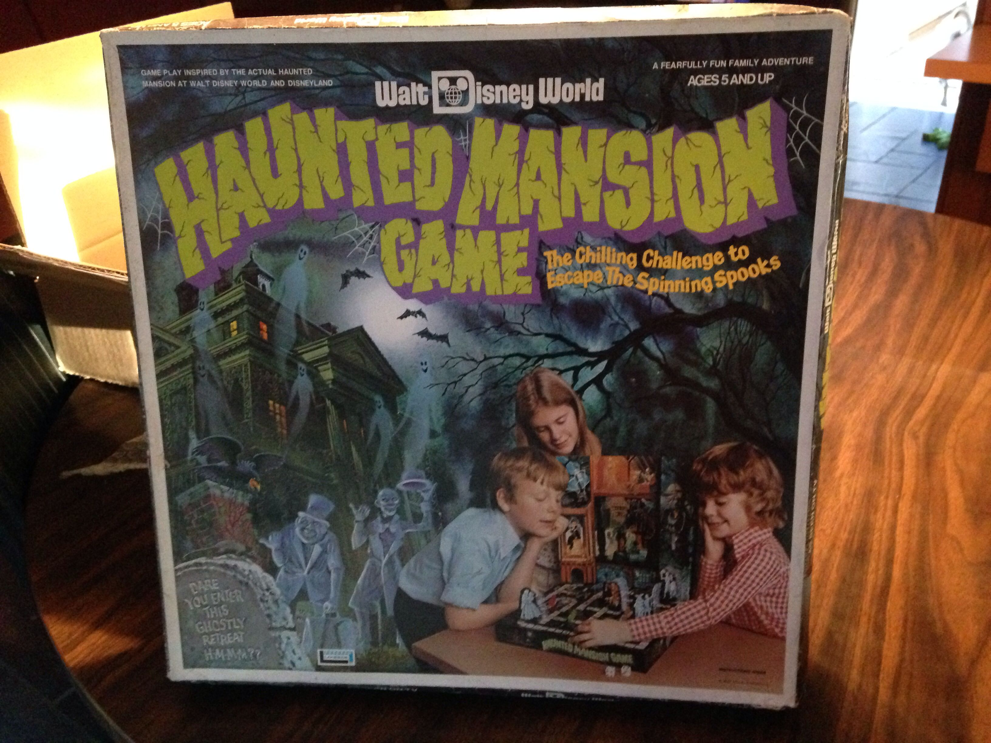 Disney Haunted Mansion Game from 1975