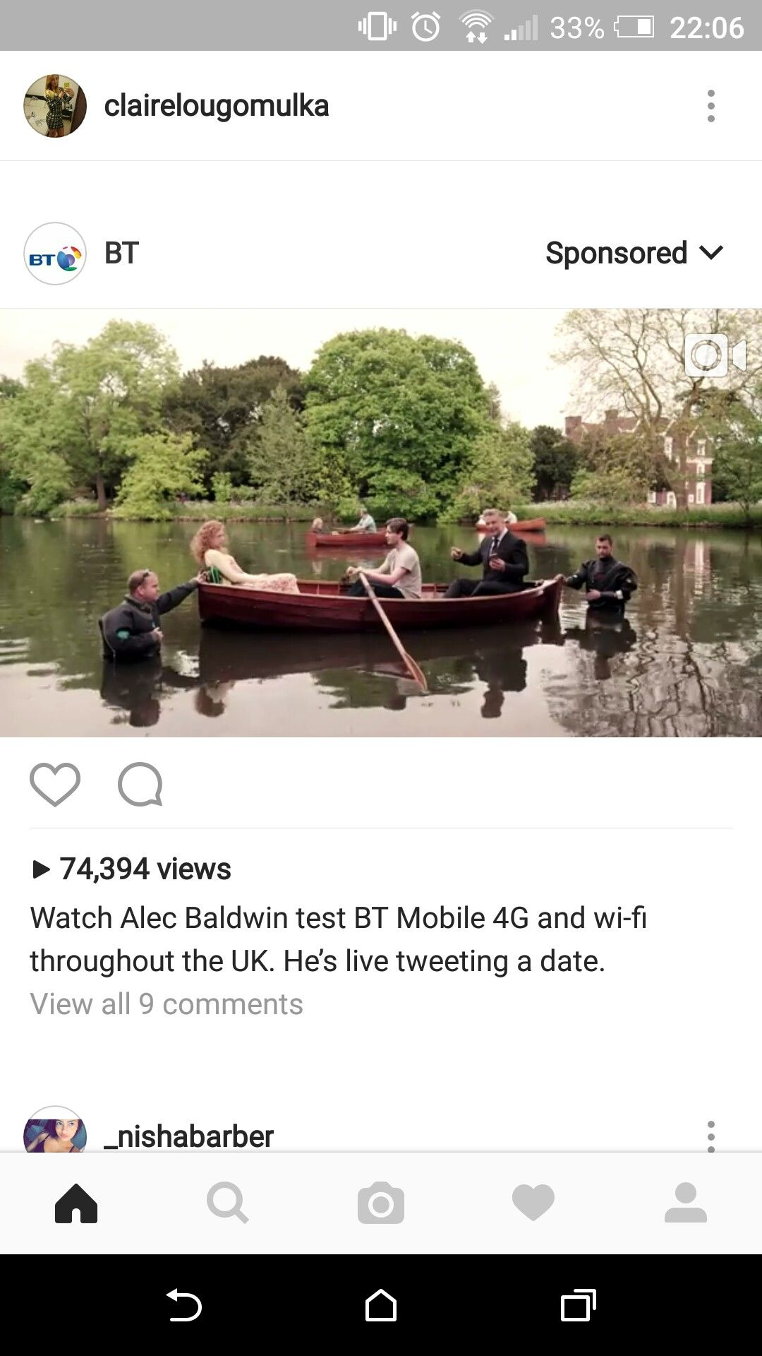 BT. Not relevant, dont use this company