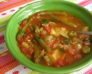Weight Watchers Mexican Zero Points Soup recipe© A Veggie Venture